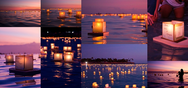 Lantern Floating Hawaii | Event Photographer | Oahu Hawaii ...