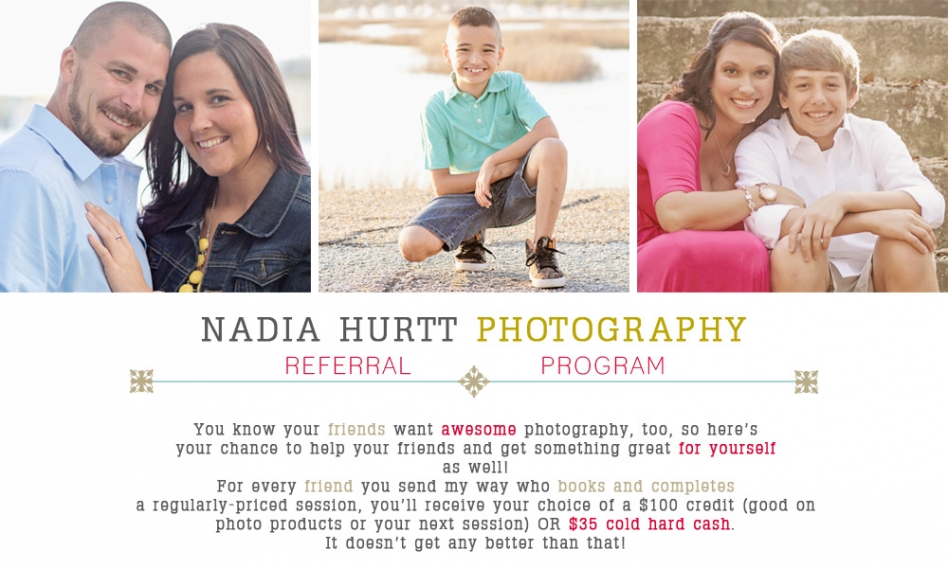 NEW REFERRAL PROGRAM! CASH OR A CREDIT, IT'S YOUR CHOICE ...