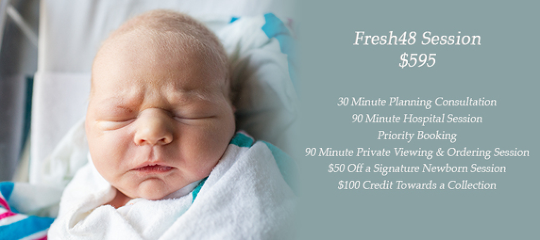 Beaufort south carolina low country hospital newborn fresh48 photography session